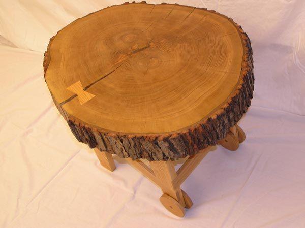 Custom Wheelbarrow Coffee Table By White And Red Works Llc - Wheelbarrow coffee table