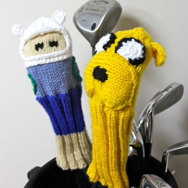 Custom Made Adventure Time Golf Club Covers