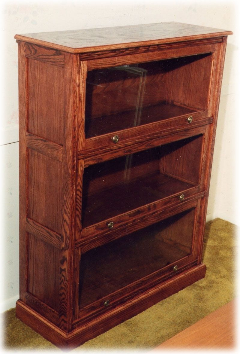 Hand Crafted Barrister Bookcase By Apple Valley Woodworks Custommade Com
