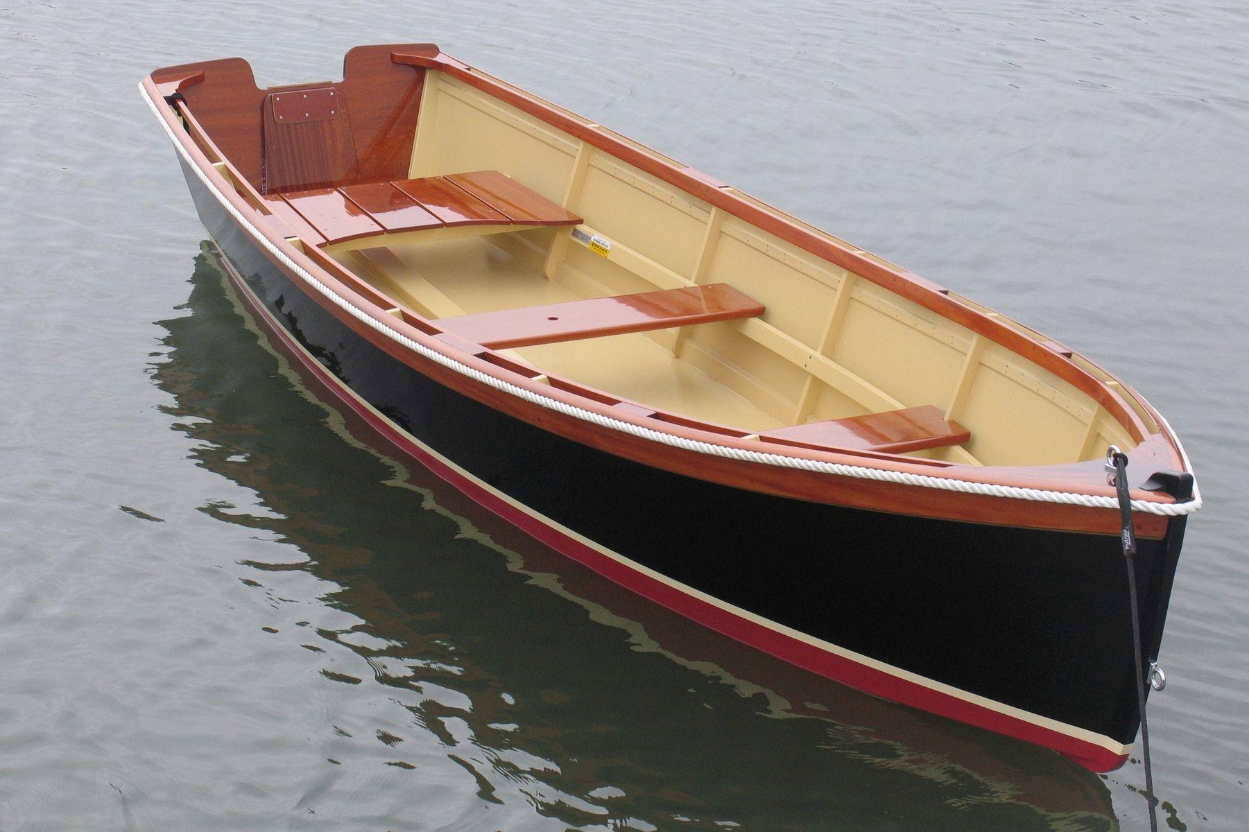Custom 14 Outboard Skiff Atkins Design By Budsin Wood