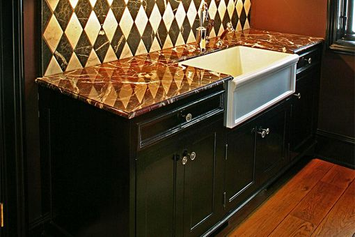 Custom Made French Provincial Kitchen