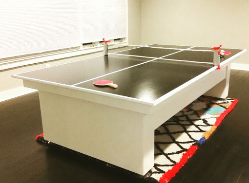 Custom Made Pingpong Tennis Table !