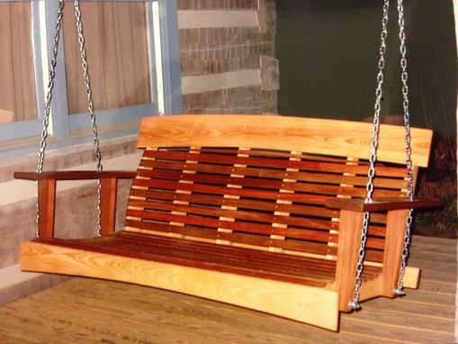 Custom Made Cypress & Ipe' Swing