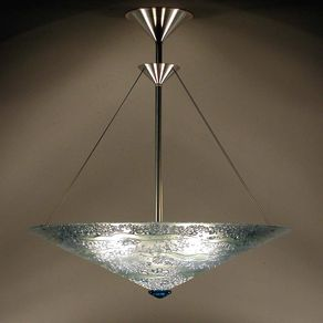 Custom ceiling fixtures custommade water series bowl pendant light aloadofball Image collections