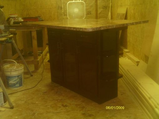 Custom Made Handmade Kitchen Island