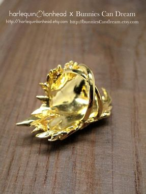 Custom Made Whirls Collection - No. 1 Ring Gold Plated