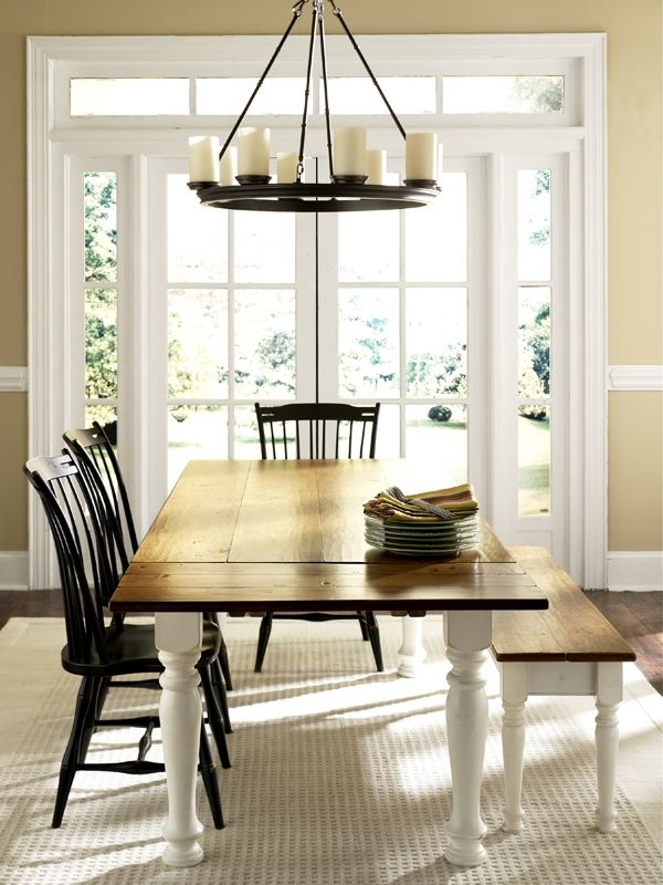 Cherry Dining Table With Extensions