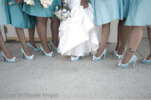 Custom Made Bridal Party Wedding Shoes