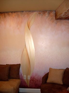 Custom Made Yoga Studio Mural Commission And Decorative Painting