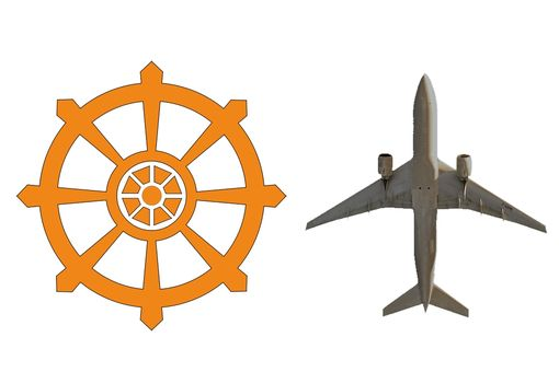Custom Made Custom Airplane And Wheel Pendants