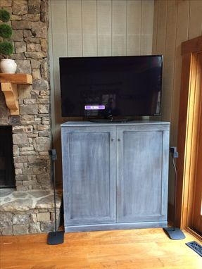 Custom Made Custom Media Tv Media Cabinet.