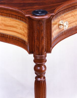 Custom Made Federal Period Work Table