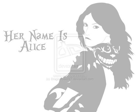 Custom Made Twisted Alice Poster (16x20)