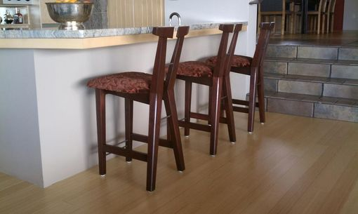 Custom Made X Bar Stool