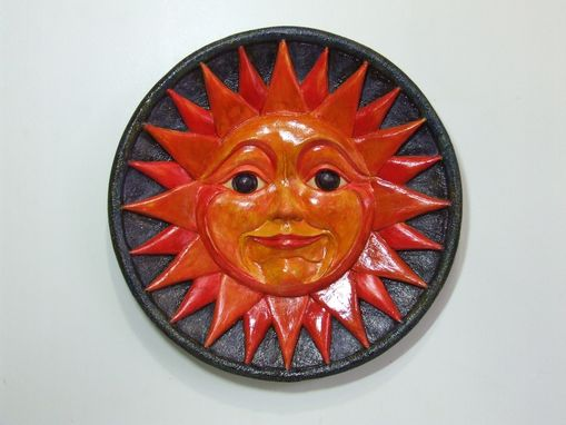 Custom Made Sun/High-Relief Sculpted Wall Art