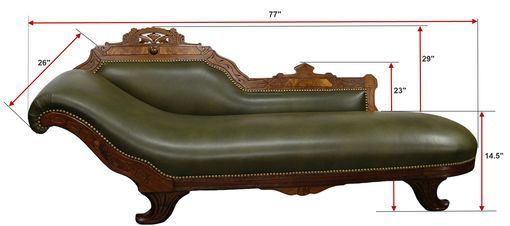 Custom Made Fainting Sofa - Sold