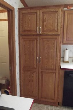 Custom Made Custom Pantry With Full Extension Pull Outs