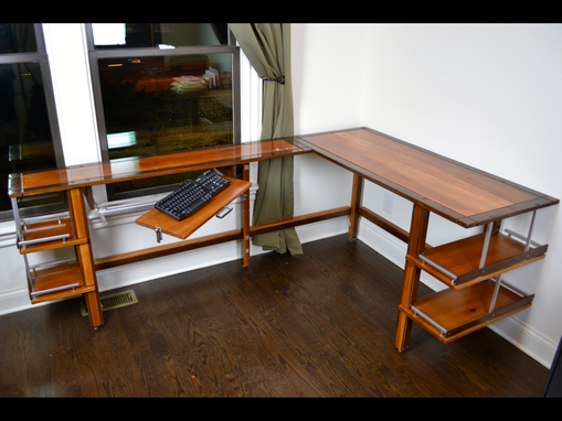 Custom Made Custom Contemporary Office Desk