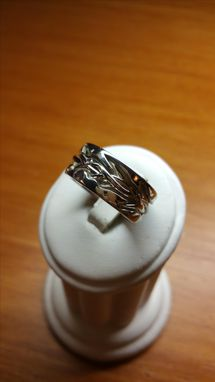 Custom Made Crown Of Thorns Wedding Band/ Ring