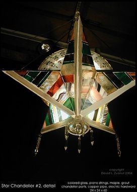 Custom Made Star Chandeliers
