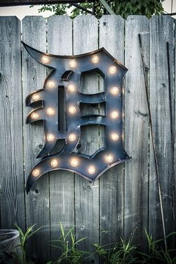 Custom Made Vintage Marquee Letters