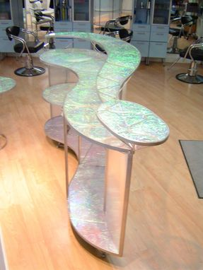 Custom Made Translucent Reception Desk