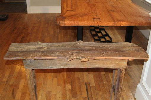 Custom Made Accent Table (Reclaimed Wood)