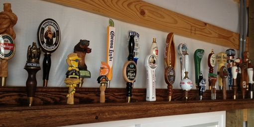 Custom Made Beer Tap Handle Display