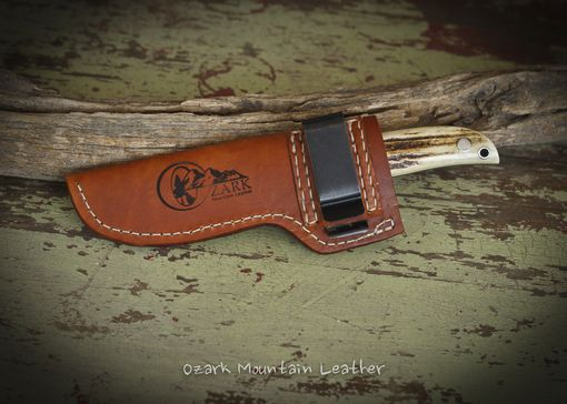 Custom Made Custom Leather Knife Sheaths Made To Fit Your Knife.