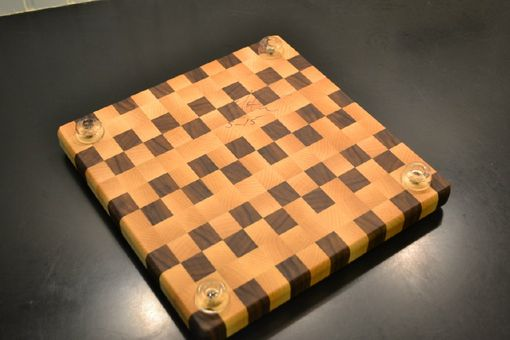 Custom Made Maple, Walnut End Grain Cutting Board