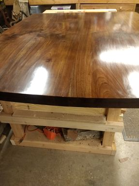 Custom Made Solid Walnut Dining Table Top