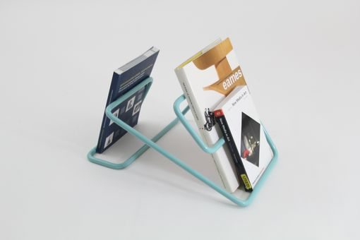 Custom Made Bent Steel Bookholder