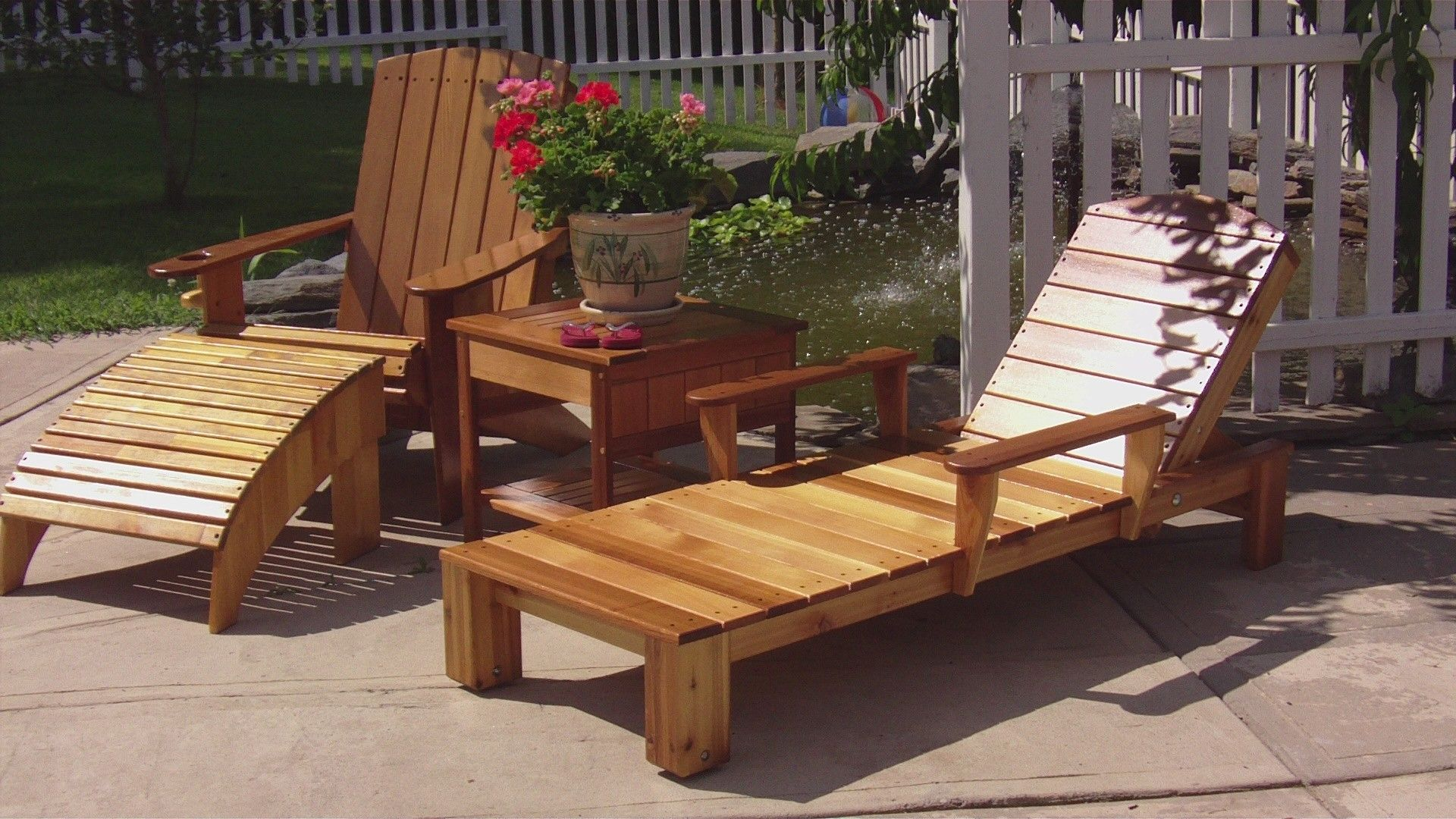 Hand Crafted Cedar Patio Furniture By Bald Mountain