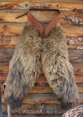 Hand Made Wooly Buffalo Chaps Leggins By Buckaroousa