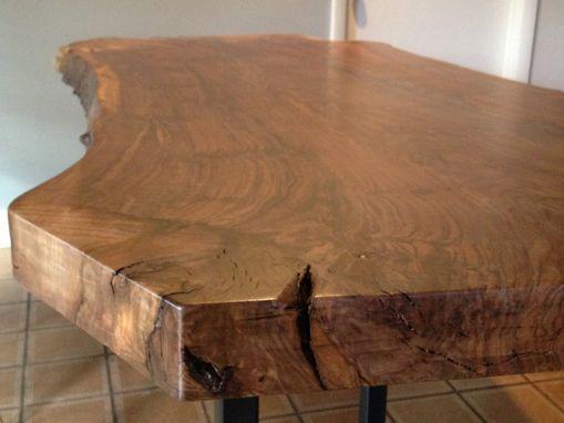 Handmade Live Edge Claro Walnut Dining Table By Ozma