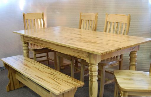 Custom Made Ambrosia Maple Dining Table