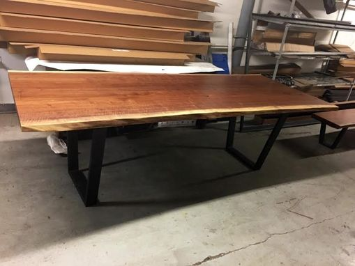 Custom Made Custom Live Edge Dining Table