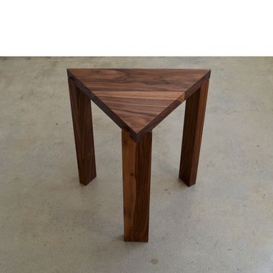 Custom Made Triangle Coffee Table / Side Table