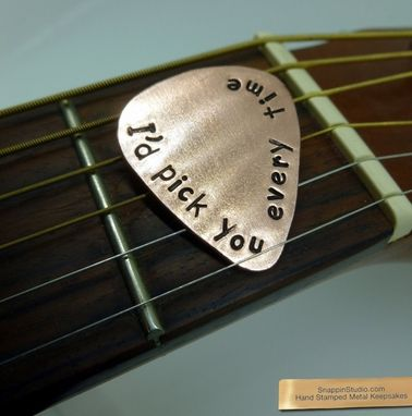 Custom Made Hand Stamped Guitar Picks