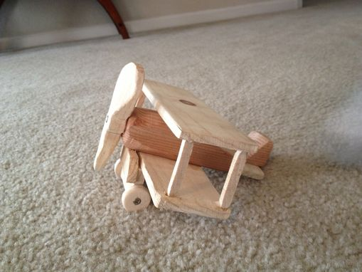 Custom Made Bi Plane Toy