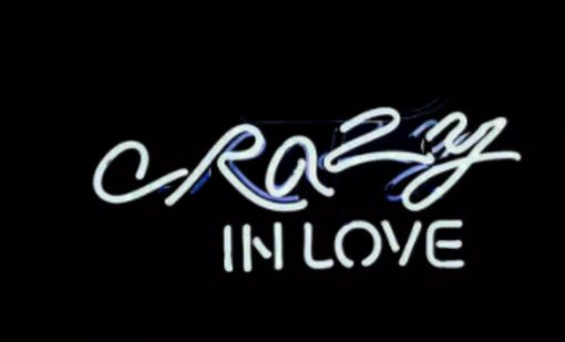 Custom Made Crazy In Love Neon Sign