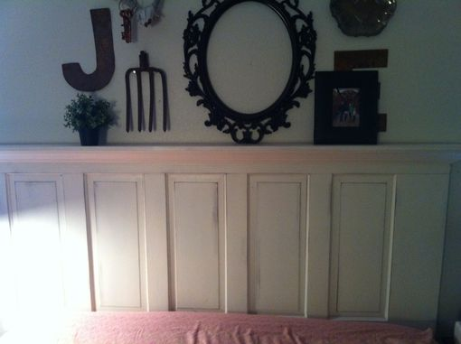 Custom Made Custom Old Door Headboard