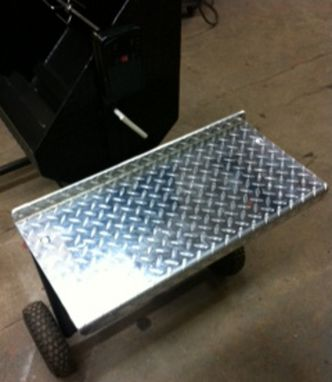 Custom Made Large Heavy Duty Charcoal Grill