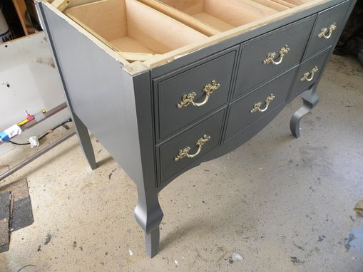 Custom Made Vanity - Accent Table
