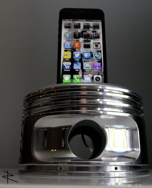 Custom Made Iphone 5 Charging Dock From Wwii Radial Engine Piston