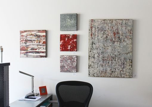 Custom Made Paintings For A New Design Studio