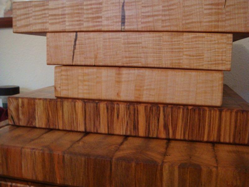 Handmade Maple End Grain Chopping Board Butcher Block