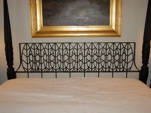 Custom Made Steel Headboard