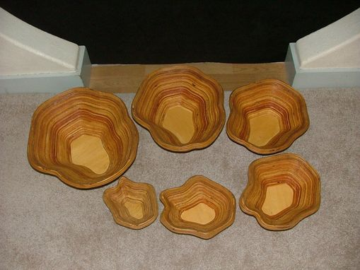 Custom Made Set Of 6 Bowls
