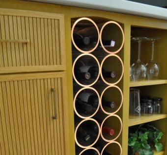 Custom Made Innovative Wine Bar